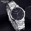 2016 Top Fashion Casual Men Alloy Quartz Watch Mens Simple Business Luxury Brand Wristwatches Reloj Hodinky Wrist Watches Clock