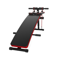 JUFIT New Fitness Machines For Home Sit Up Abdominal Bench fitness Board abdominal Exerciser Equipments Gym Training muscles