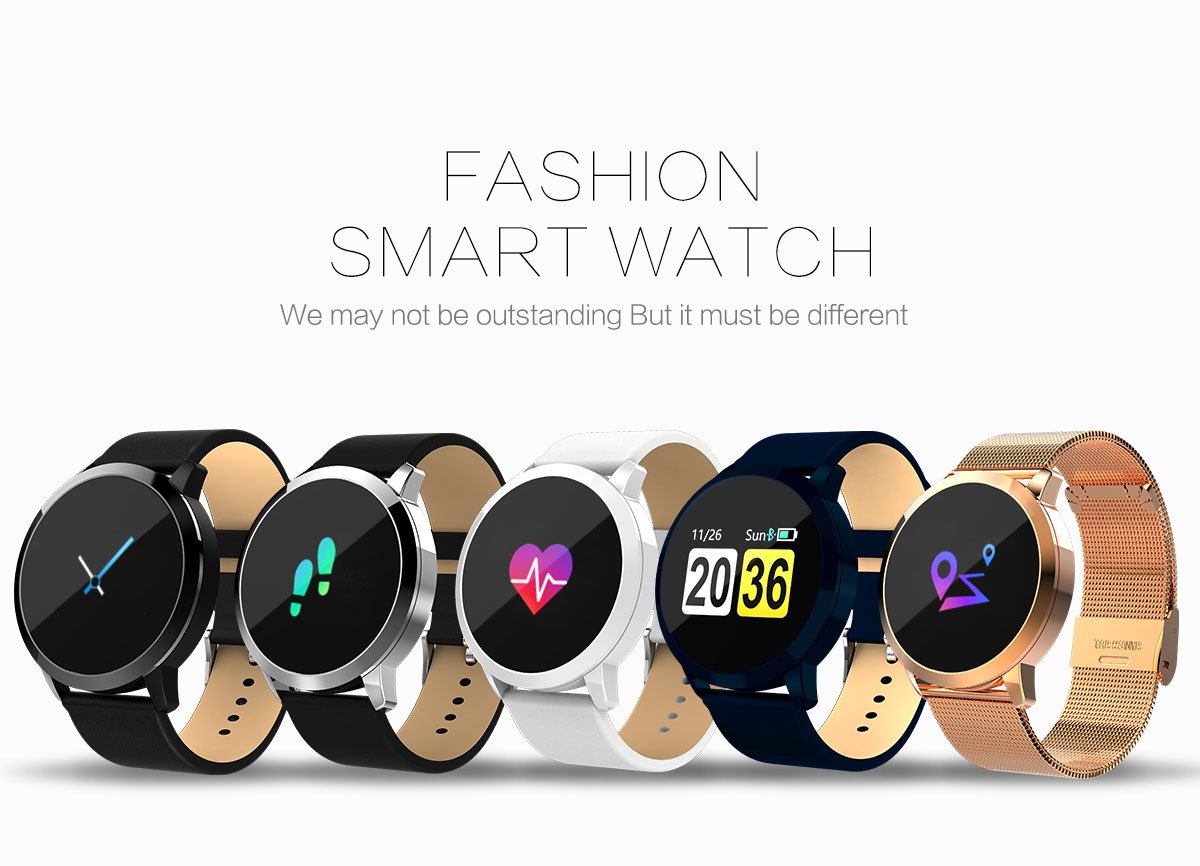 0.95 Inch Smart Clock Measuring Blood Pressure Smart Watch Games Smartband with Heart Rate Anti Lost Running Bracelet Woman Man