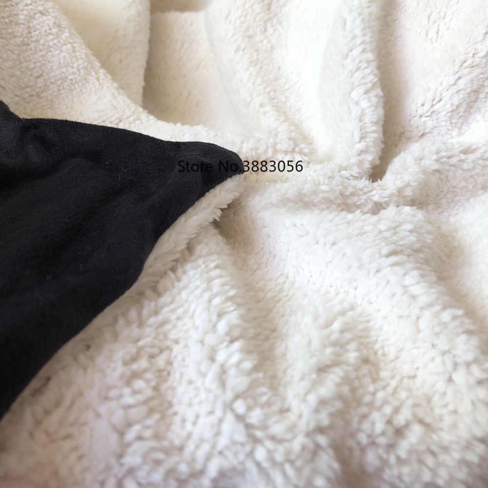 Шампанское цветок Единорог пятно узор 3D плюшевый, с принтом одеяло с капюшоном для взрослых и детей теплые носимых плед из овечьей шерсти
