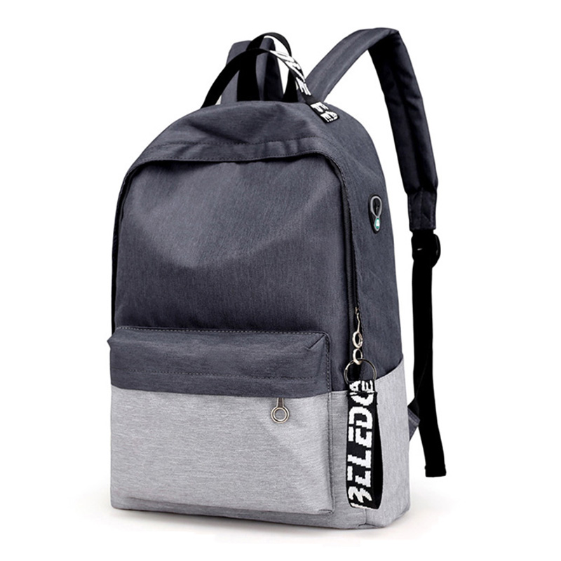 2018 Nylon Men's Backpack Male College Student Backpack For School Bag Teenagers Casual Mochila High Quality New Laptop Backpack