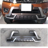 EXTERIOR AUTO 4X4 ACCESSORIES FRONT BUMPER COVER COVERS FIT FOR NISSIAN NAVARA NP300 2015 2018 PICKUP CAR BUMPER COVER