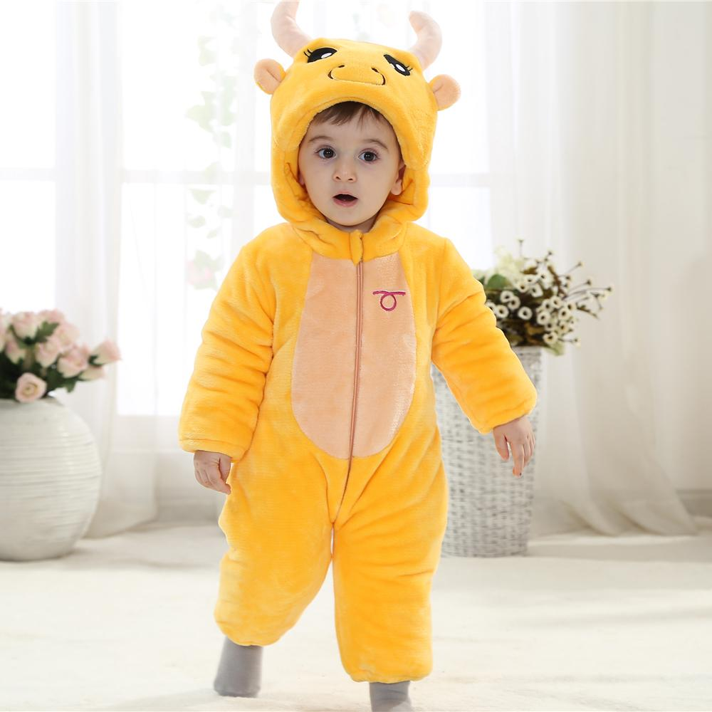 7fd36865c6e2 Fashion Halloween Tutu Romper Yellow Hooded Onesie Baby For 0 23 Months Baby  Boy Winter Clothes KJ 16009-in Rompers from Mother   Kids on Aliexpress.com  ...