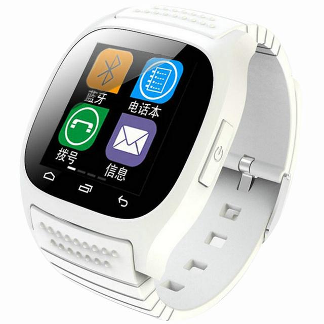 Segunda geração relógio inteligente bluetooth led música qq masculino ao ar livre relógio eletrônico m26s