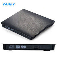 External DVD Drive Ultra Slim USB 3 0 DVD RW Enclosure With Burner Recorder For Laptop