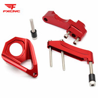 For Suzuki GSXR 600 750 K4 2001 2005 CNC Aluminum Motorcycle Steering Damper Stabilizer Bracket Mounting Support Kit Holder