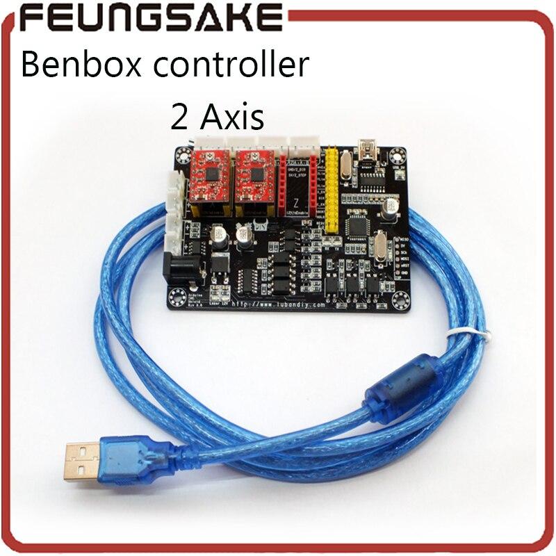 USB Laser 2 Axis Stepper Motor USB Driver Board Controller v5 DIY laser engraver control board,adjust power, support PMW