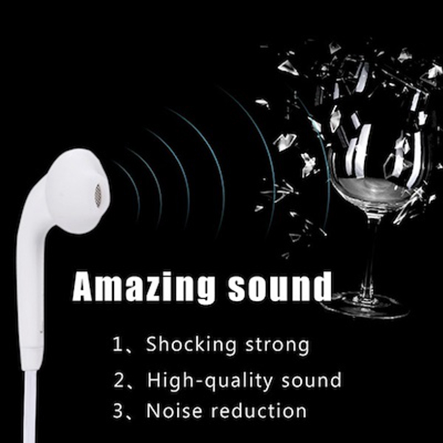 Original EG920 For SAMSUNG Earphones Black EG920 3 5mm In ear with Microphone Wire Headset for Samsung Galaxy S6 S7 S8 Support in Phone Earphones Headphones from Consumer Electronics