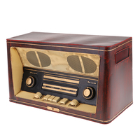 Antique Imitation Iron Radio Model Retro Nostalgic Ornaments Bar Bedroom Home Decoration Props 36 x 16 x 20 cm
