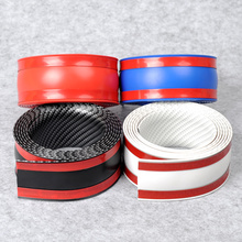 Pegatinas de vinilo de 4 colores para puerta de protector de fibra de carbono 5d, protector de alféizar, productos de diseño de coche para Bmw, accesorios Adhesivos para coche