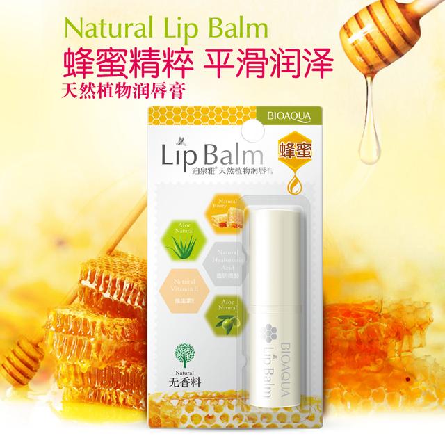 Natural Aloe Honey Lip Balm Colorless