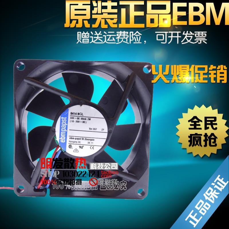 ФОТО Free Delivery.Genuine 8414 NGL 8025 0.7W 24V 8CM/ cm inverter fan