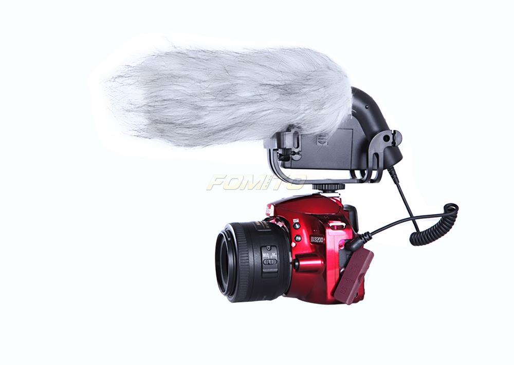 BOYA BY-VM190P Super-Cardioid Shotgun Condenser Microphone for Canon Nikon Sony DSLR Cameras Camcorder Microfone кабель антенный hama h 11901 coax m coax f 3м белый [00011901]