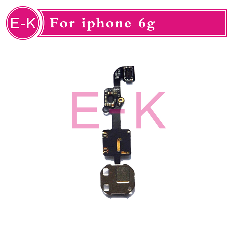 10pcs/lot Home Button Menu Flex Cable for Iphone 6 6G 4.7 inch Return Keypad Replacements Parts Free Shipping