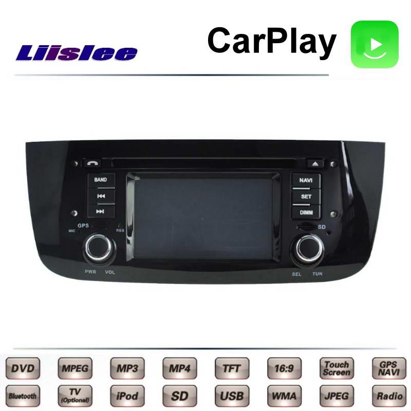 Pour Fiat Grande Punto EVO Avventura 2009 ~ 2017 voiture multimédia TV DVD GPS Radio Carplay Style Original Navigation Liislee Navi
