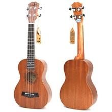 21 inch Soprano Uke 4 Strings uke ukulele Sapele heart guita acoustic small guitar professional Concert
