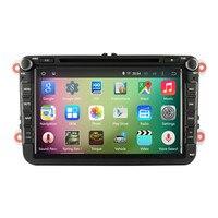 Quad Core Flash 16GB HD1024X600 Car Central Multimedia GPS Navigation For VW Polo Golf 5 6