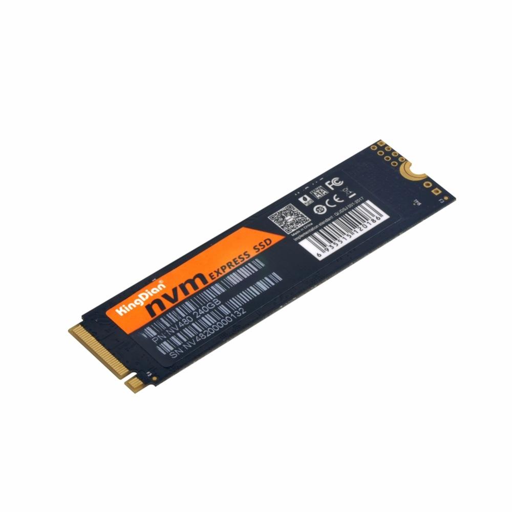 NV480 240GB KingDian 2280 M 2 NVME 240GB 3D Nand Flash SSD PCIE Internal SSD