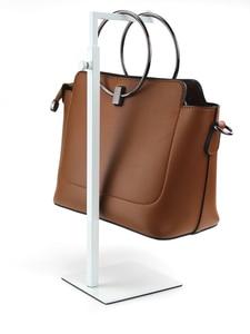 Image 4 - Высококачественная металлическая подставка держатель для сумок, 7 форм, регулируемая высота, металлическая подставка вешалка для сумок
