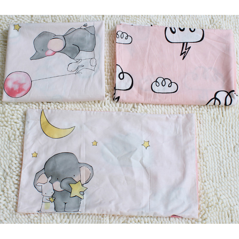 Elephant Patterned Bedding Set