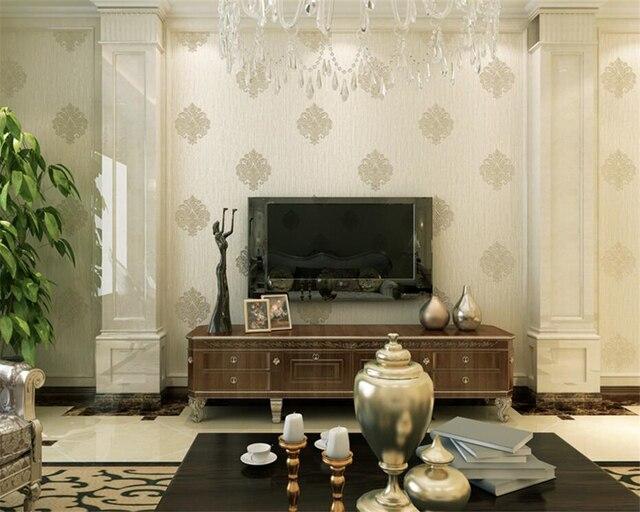 Beibehang Wallpaper For Walls 3 D Elegant Jane European Style Wallpapers Living Room Bedroom Book Full House Roll