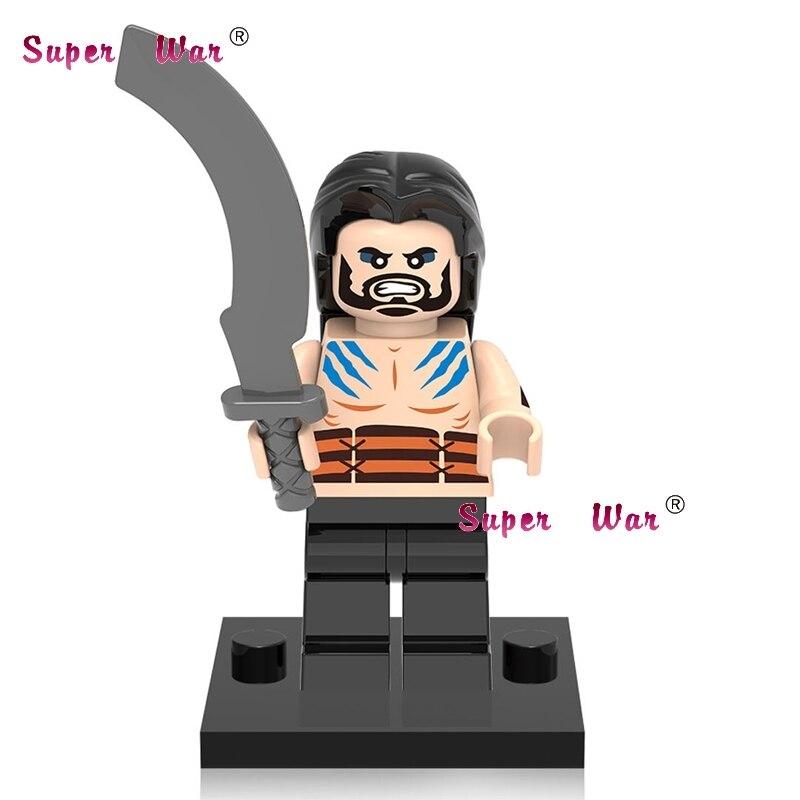 1PCS star wars superhero marvel Game of Thrones Khai Drogo TV building blocks model bricks toys for children