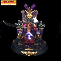 11 ONE PIECE Statue Seven Warlords Of The Sea Bust Dracule Mihawk Full Length Portrait 1:4 GK Action Figure Toy BOX 30 CM Z223