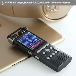 Image 3 - מקצועי קול הופעל אודיו דיגיטלי קול מקליט 16GB 8GB 32GB USB עט ללא הפסקה 100hr הקלטת PCM 1536 kbps תמיכה TF כרטיס