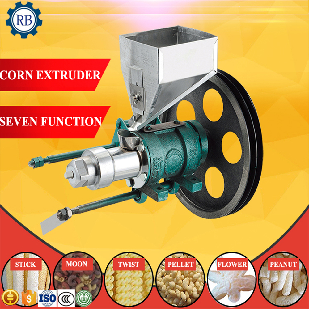 Advanced Technology Professional Corn Extruder Head Corn Puffed Machine With Different Molds