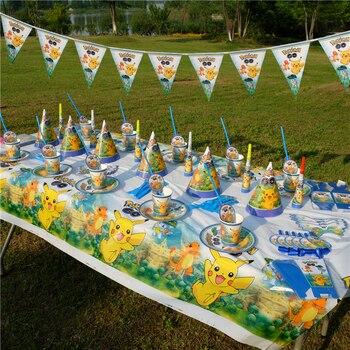 Décoration Fête Anniversaire Pokemon Pikachu