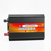 1000W Solar Inverter Multifunctional Car Travel Power Supply Control Car inverter Fan Mobile phone charger LCD Display