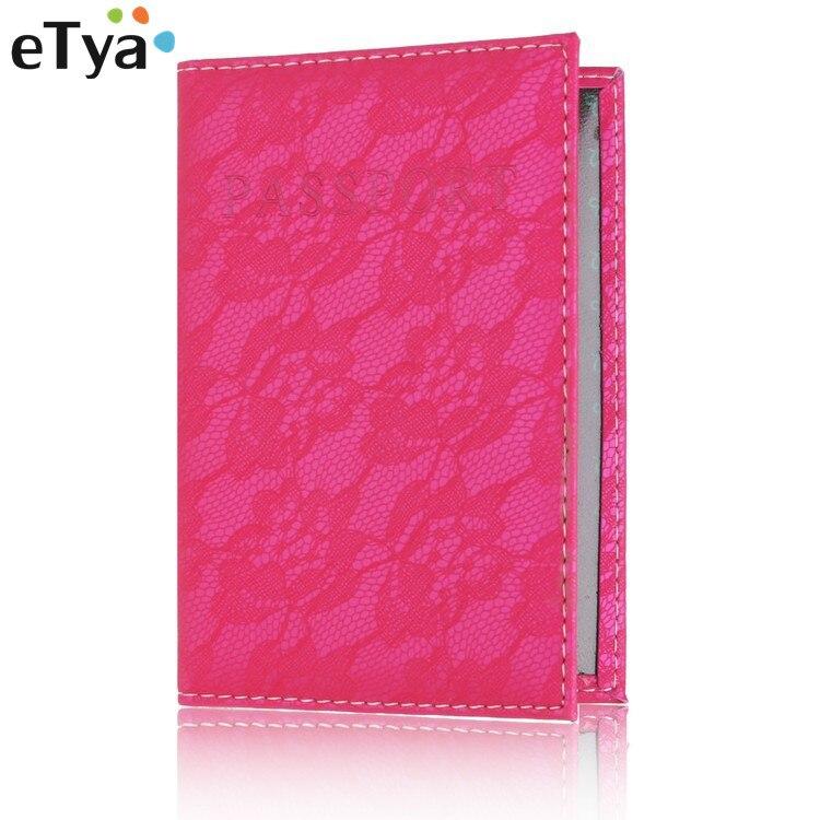 2018 Fashion Women Travel Lace Passport Cover Lady Business Passport PVC Card Holders Passport Wallet Purse Organizer Case цены