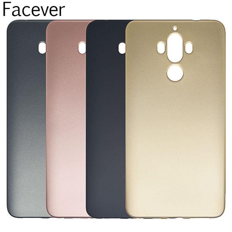 Huawei Mate 9 Kasus Simple Metallic Finish Lembut Silicone Ponsel - Aksesori dan suku cadang ponsel - Foto 1
