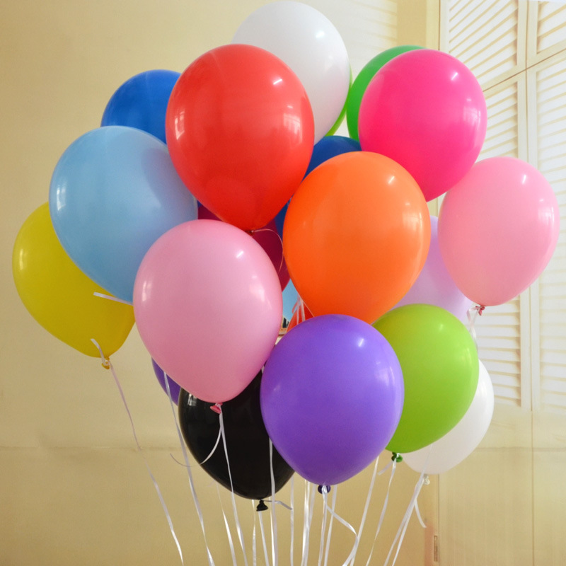 20 PC 12 Inch Latex Balloons Globos Party Air Balloons Birthday Decoration Ballo