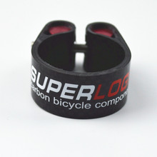 Full carbon fiber superlogic bicycle rod seatpost clamp mountain bike road bike for 27.2 30.8 31.6 seat post 3k finish