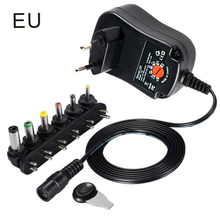 Universal Wall Plug-in Adjustable AC/DC Power Adapter 5V 6V 9V 12V Plug Charger Supply