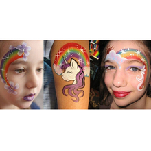 Freindly 12 Collors Face and Body Paint for Children.