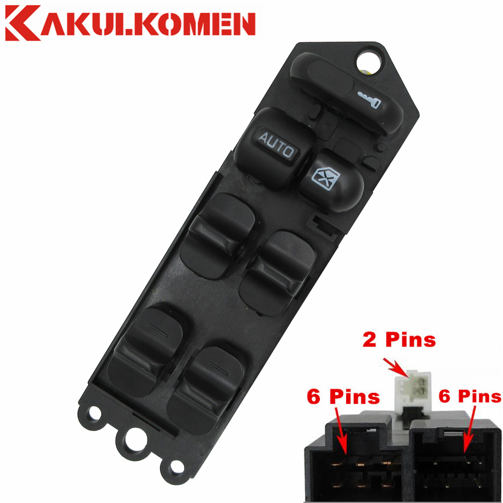 Front Left Side Power Window Lifter Switch For Nissan Altima Stanza Bluebird Pulsar Sunny Sentra 25401-1E401 254011E401 carburetor carb for nissan a12 cherry pulsar vanette truck datsun sunny b210 pulsar truck 16010 h1602 16010h1602 16010 h1602