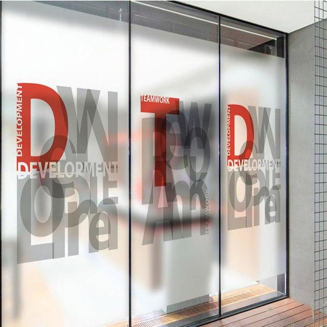 Online Shop Matte Custom Decorative Glass Foil Explosion Proof