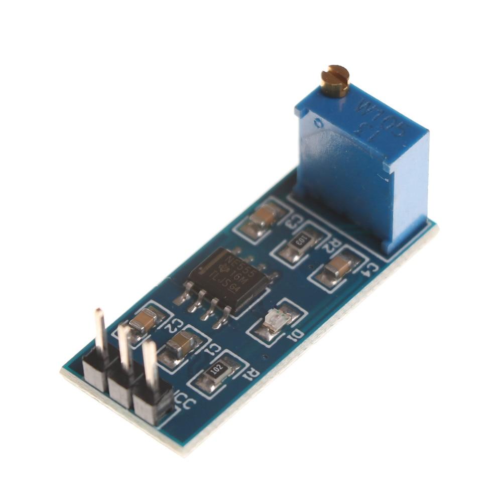 1PCS NE555 adjustable frequency pulse generator module For Arduino Smart Car