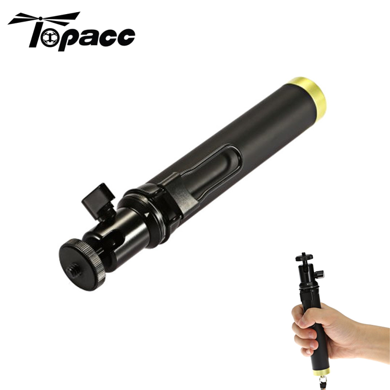 Handheld Gimbal Retractable Selfie Stick 70cm for Firefly 8s Action Camera Cam Accessories Spare Parts For RC Camera Drones