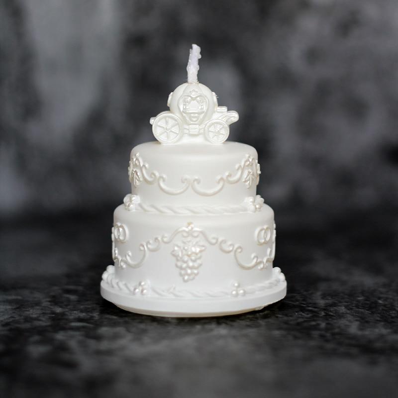 nicole molde de pastel de silicona del molde d jabn hecho a mano de fabricacin de velas de la boda arte de la resina decoraci