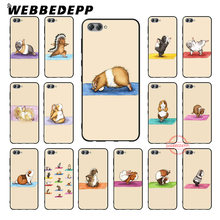 WEBBEDEPP The Yoga Guinea Pigs Art Soft Black Silicone Phone Case for Huawei Honor 20 Note 10 9 9X 8X 8C 8 Lite 6A 7X 7C 7A Pro(China)