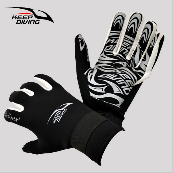 Perfect Fit 2MM Neoprene Professional Scuba Diving Gloves Warm And Non-slip Snorkeling Equipment Wetsuit Wet suit