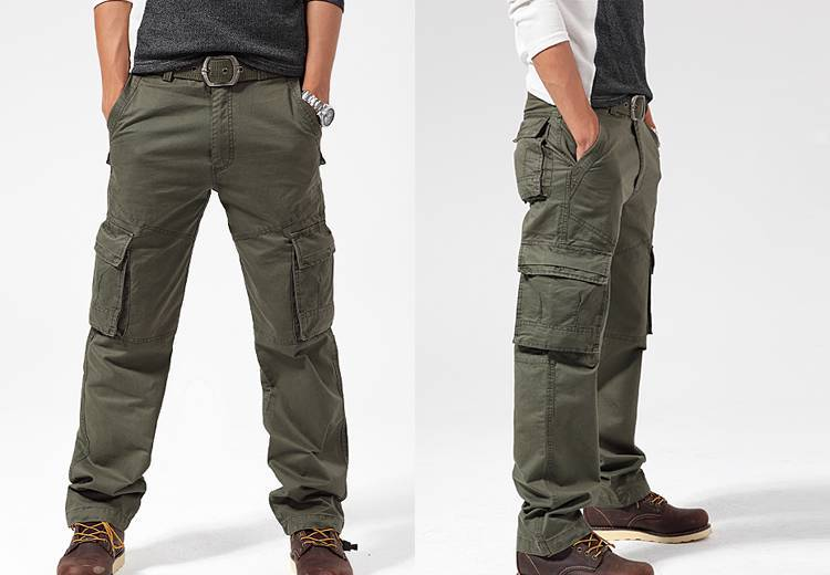 8210771e5aeaf8 New Mens Cargo Pants Casual Pants Leisure Trousers Combat Trousers Jeans-in  Men's Costumes from Novelty & Special Use on Aliexpress.com | Alibaba Group