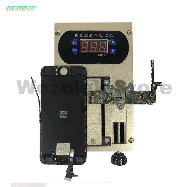 Wozniak 2in1 téléphone portable plaque de couverture support séparateur Intelligent plate-forme de chauffage démonter A8 A9 CPU puce colle enlever