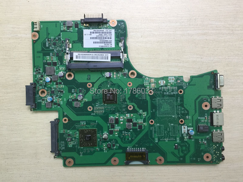 ФОТО Free Shipping for Toshiba Satellite C650D C655D  V000225210 series motherboard.All functions 100% fully Tested !