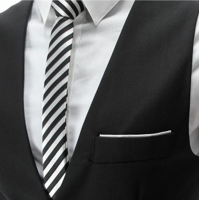 Colete Masculino Direct Selling Short No Pleated 2018 Free Shipping New Men's Multi-colored V-neck Slim Men Vest Waistcoat Free