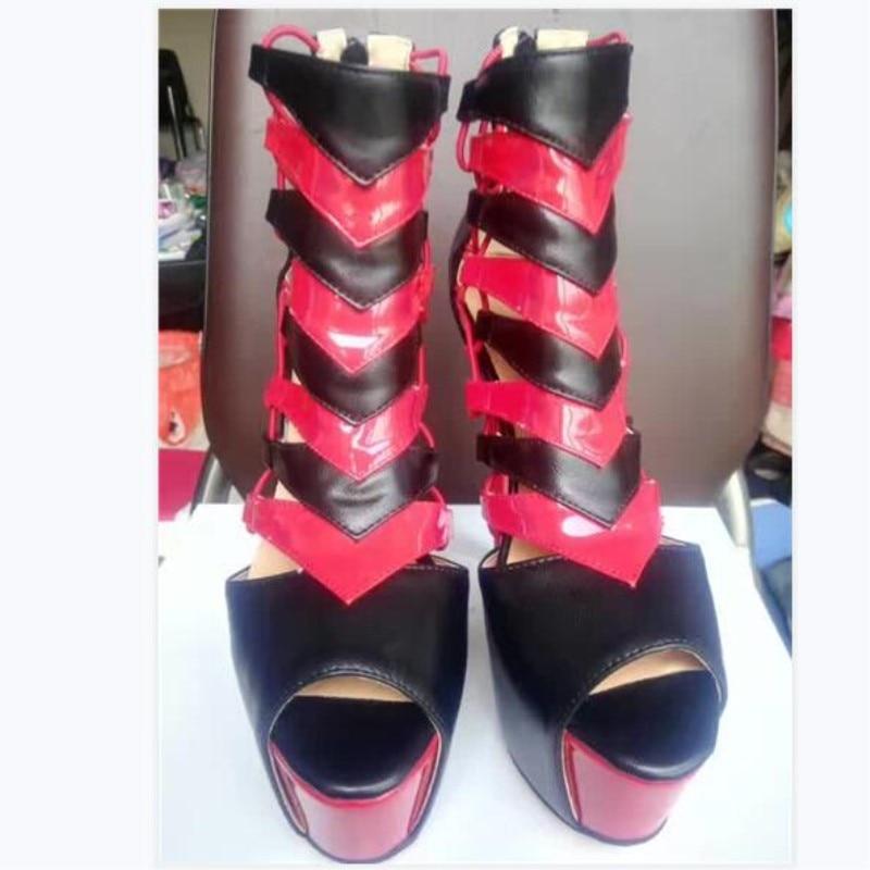 SHOFOO shoes,Elegant fashion free shipping, 4.5 cm waterproof platform, 14.5 cm high heel sandals, womens sandals. SHOFOO shoes,Elegant fashion free shipping, 4.5 cm waterproof platform, 14.5 cm high heel sandals, womens sandals.