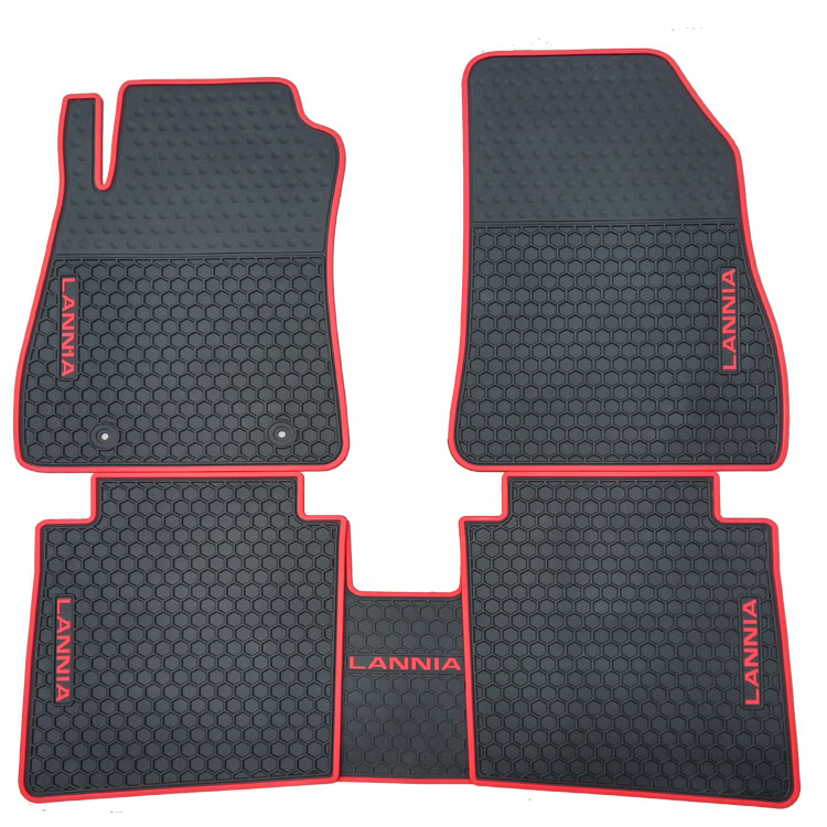 special free shipping no odor rubber waterproof rugs non slip easy clean latex car floor mats for LIVINA X TRAIL